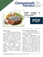 Analise sensorial de carne conceitos e recomendações