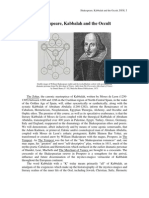 Shakespeare Kabbalah and the Occult