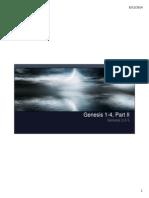Genesis 1-4, Part Two_Harvey