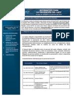 Boletin Informativo PLAFIT 23-2014