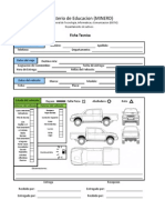 Ficha Tecnica para registro de camionetas