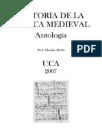 Morla Claudio - Historia de La Musica Medieval - Antologia
