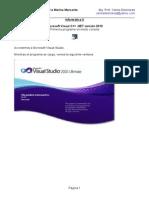 Visual C++ NET 2010 - Primeros programas en modo consola