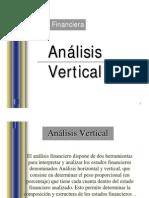 Análisis Horizontal y Vertical Presentación