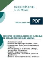 Hidrologia en El c de Minas