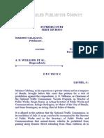 Calalang vs. Williams, G.R. No. 47800, December 2, 1940, 70 Phil. 726(1)