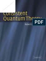 Consistent Quantum Theory