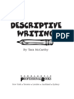 examples of descriptive writing setting descriptive writing