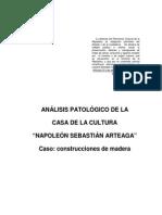 Análisis Patologico de Un Edificio de Valor Patrimonial