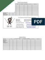 CPA Review NINJA Study Planner