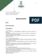 Manual de Contas Detalhado