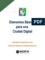 Elementos Basicos Para Una Ciudad Digital