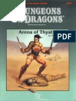 DDA1- TSR9284 - D&D - Arena of Thyatis