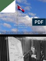 PACOM Strategic Focus