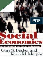 Social Economics Cover