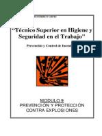 Modulo I-09 - Prevencion de Explosiones