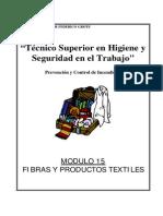 Modulo I-15 - Fibras y Productos Textiles