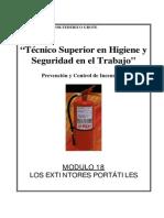 Modulo I-18 - Extintores Portatiles