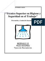 Modulo II-12 - Rociadores-Tipos de Rociadores
