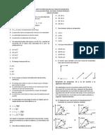 Evaluacion Final Fisica Tercer Periodo