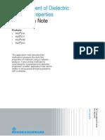 Measurement of Dielectric Material Properties