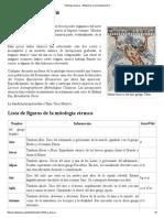 Mitología Etrusca - Wikipedia, La Enciclopedia Libre