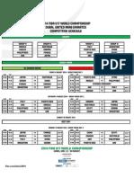 2014 FIBA U17 WC Competition Schedule