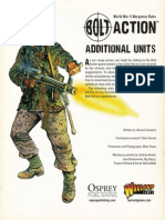 Bolt Action Additional Units