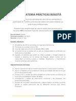 Convocatoria Bogota Ingenieros de Sistemas
