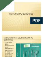Instrumental Quirurgico