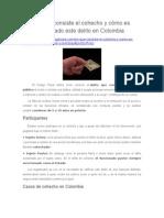 ¿En Qué Consiste El Cohecho y Cómo Es Castigado Este Delito en Colombia?