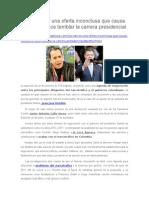 Los Narcos Una Oferta Inconclusa Que Causa Revuelo y Hace Temblar La Carrera Presidencial