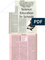 Science education in Schools in India
