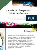 La Relaciòn Terapèutica Enfermera-Paciente (1)