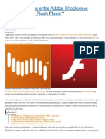 Qual a diferença entre Adobe Shockwave Player e Adobe Flash Player.docx