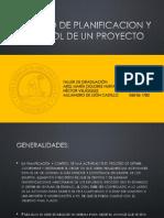 Proceso de Planificacion de Un Proyecto