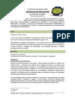 Seminario de Recreacion Por Hernando Ariel Gigliotti Apunte Completo
