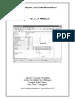 Modul Excel Helaian Markah
