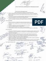 Acta de Acuerdos Del II Foro Metropolitano de La MEJU