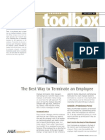The Best Way to Terminate an Employee