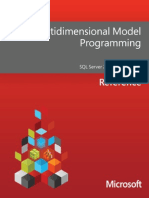 Multidimensional Model Programming
