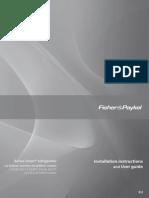 FISHER&PAYKEL Smart Refridgerator Manual