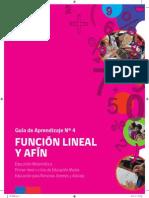 Funcion Lineal y Afin