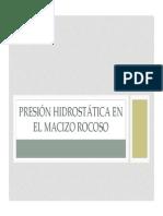 Presion Hidraulica en El Macizo Rocoso (1)
