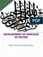 Developments Surfaces