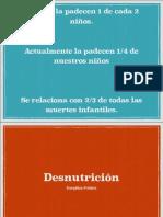Desnutricion en Pediatría