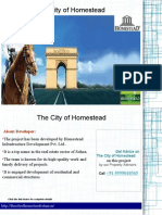 The City of Homestead- Microsite