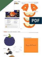 Pop Up Halloween e a4