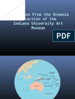 Selections From the Oceania Collection of the Indiana University Art