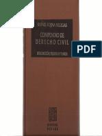 Compendio de Derecho CivilI